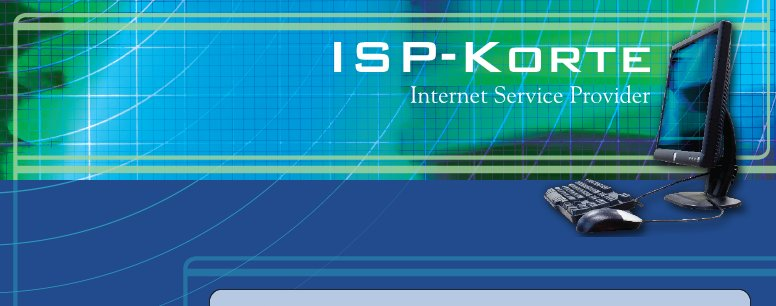ISP-Korte - Internet Service Provider